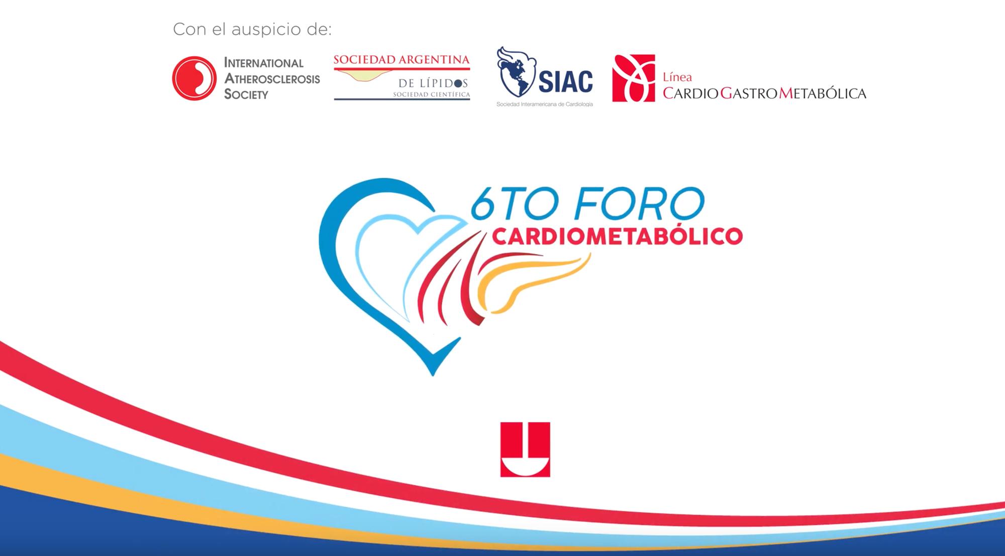 6to. Foro Cardiometabólico