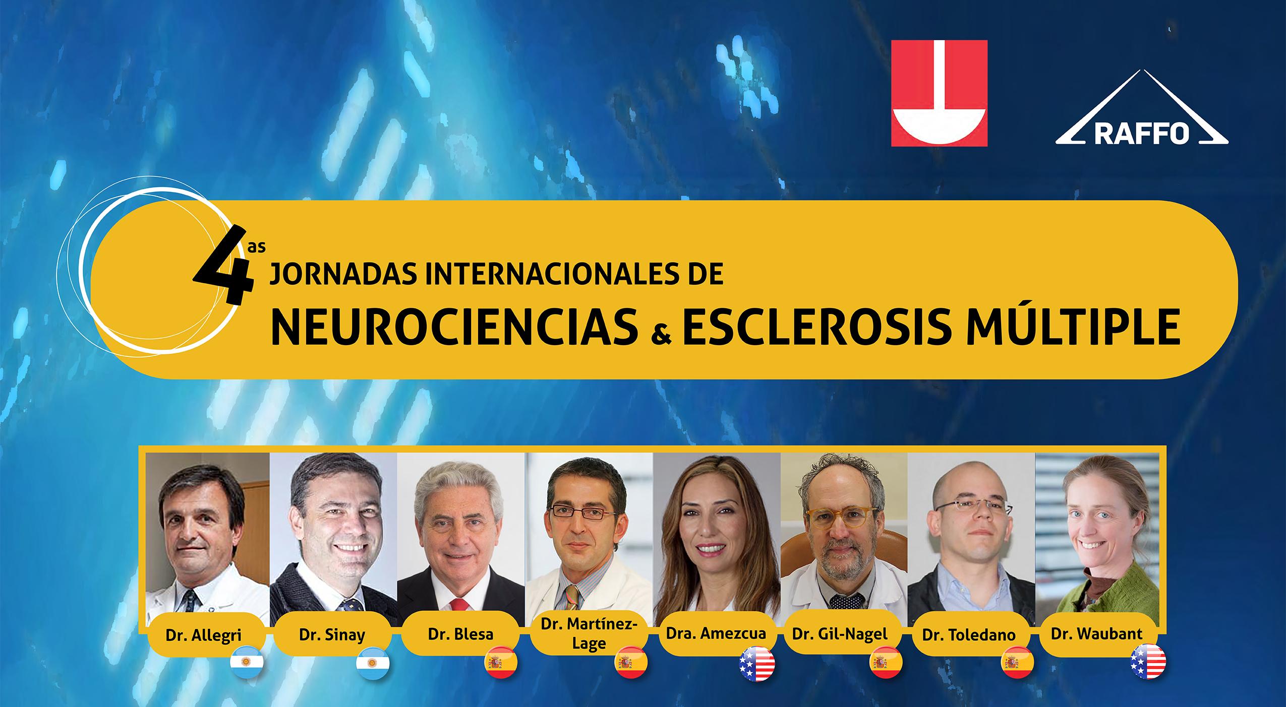 4as Jornadas Internacionales de Neurociencias y Esclerosis Múltiple